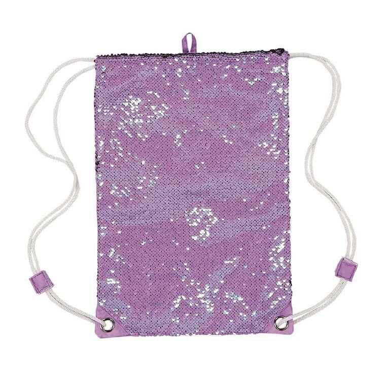 Young Original Girls' Sequin Bag, Purple, hi-res
