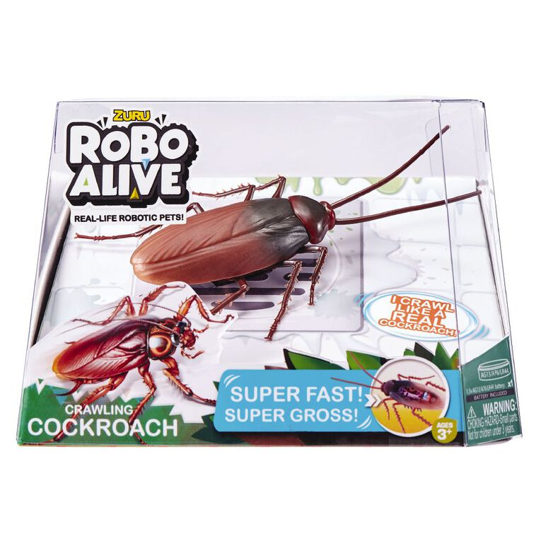 Zuru Robo Alive Cockroach, , hi-res