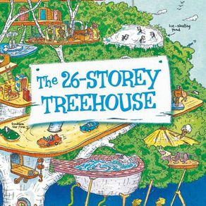The 26 Storey Treehouse by Andy Griffiths & Terry Denton