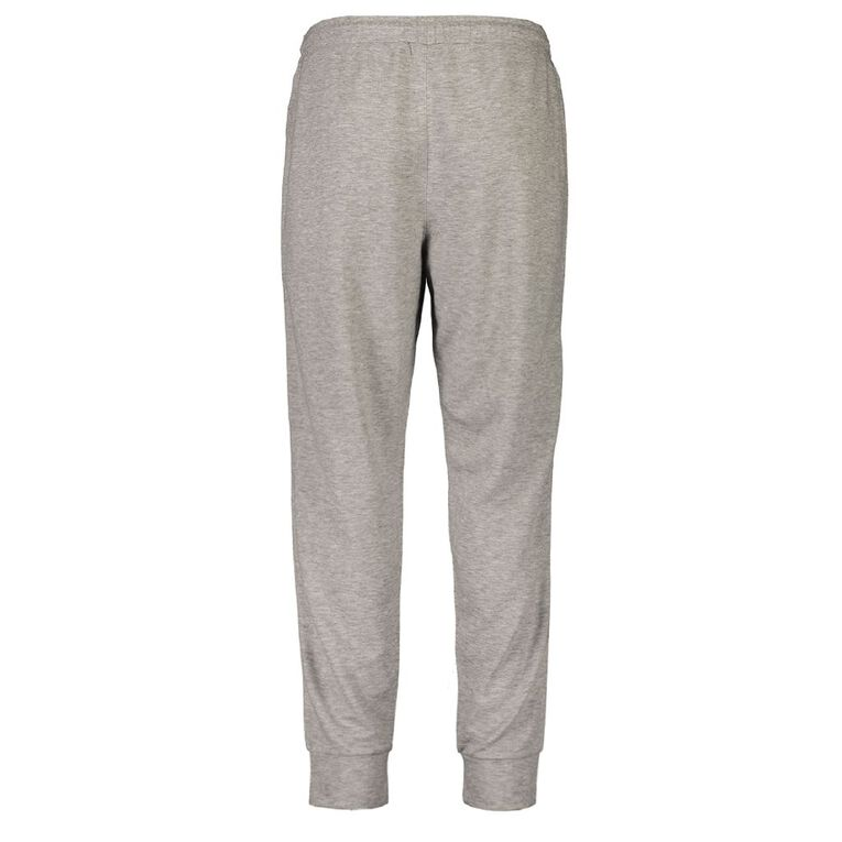 Active Intent Men's Tape Side Trackpants, Grey Marle, hi-res