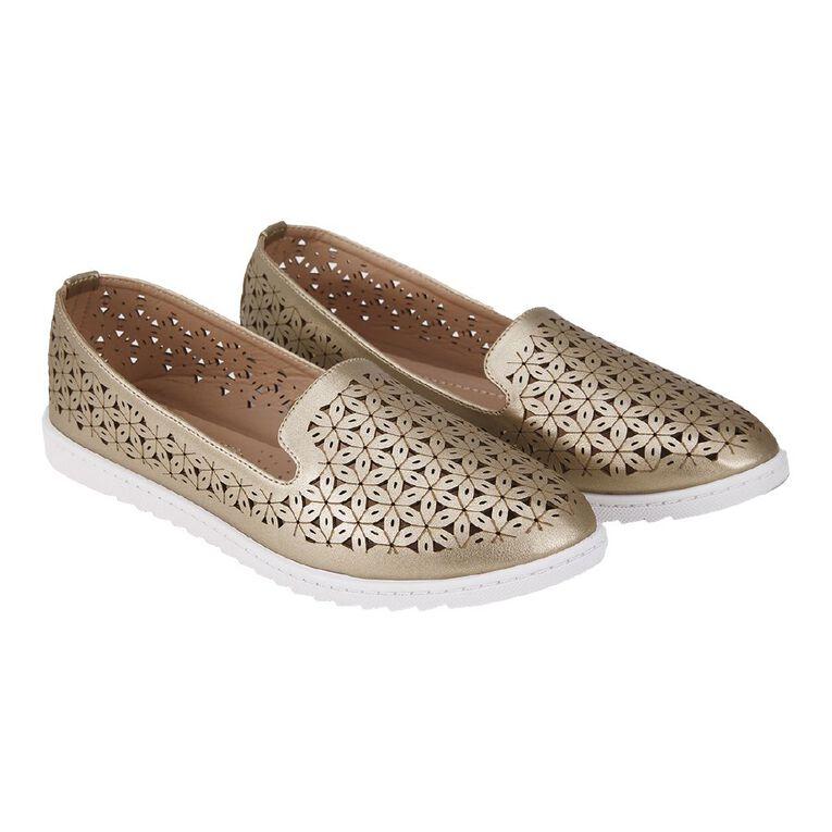 H&H Lucy Ballet Shoes, Gold, hi-res