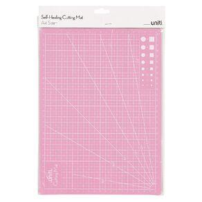 Uniti Cutting Mat Self-Healing Pink A4