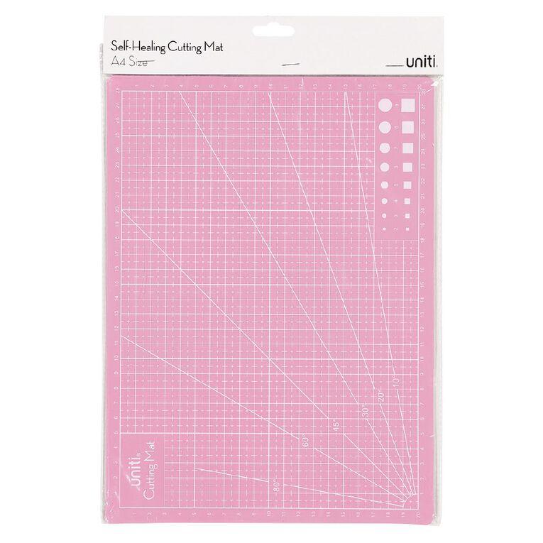 Uniti Cutting Mat Self-Healing Pink A4, , hi-res