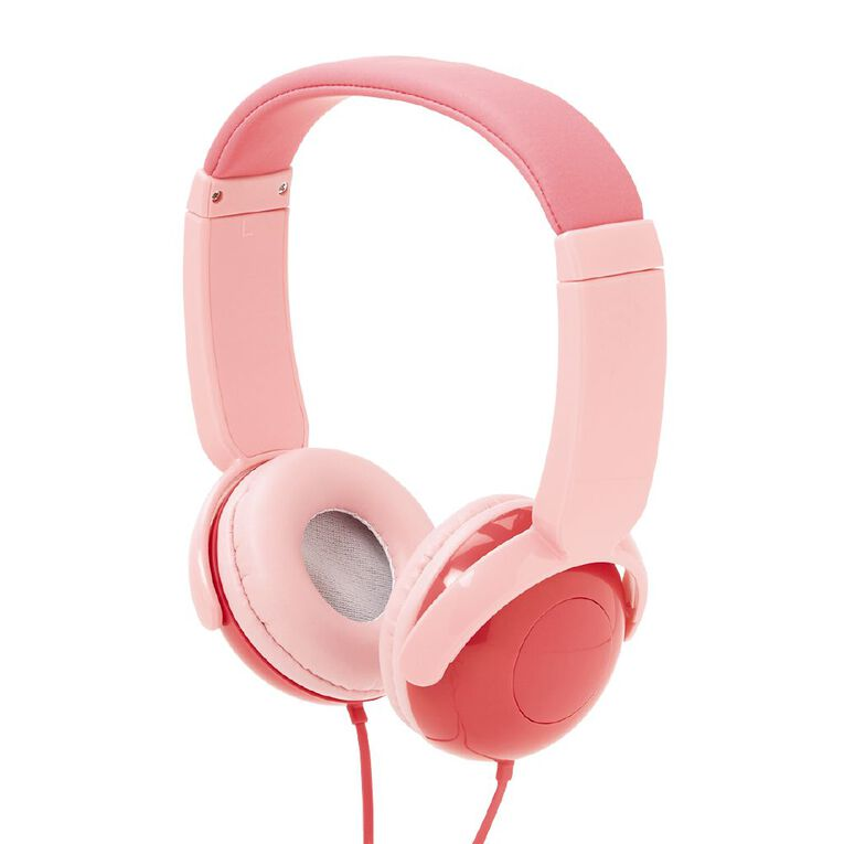 Tech.Inc Dome Kids' Volume Limited Headphones Pink, , hi-res