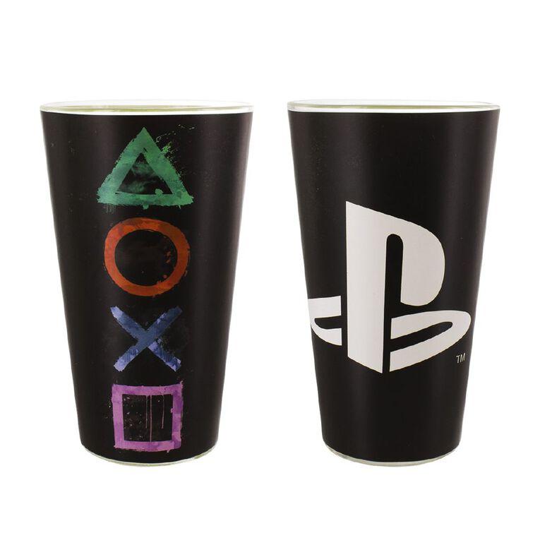 Paladone PlayStation Black Glass, , hi-res