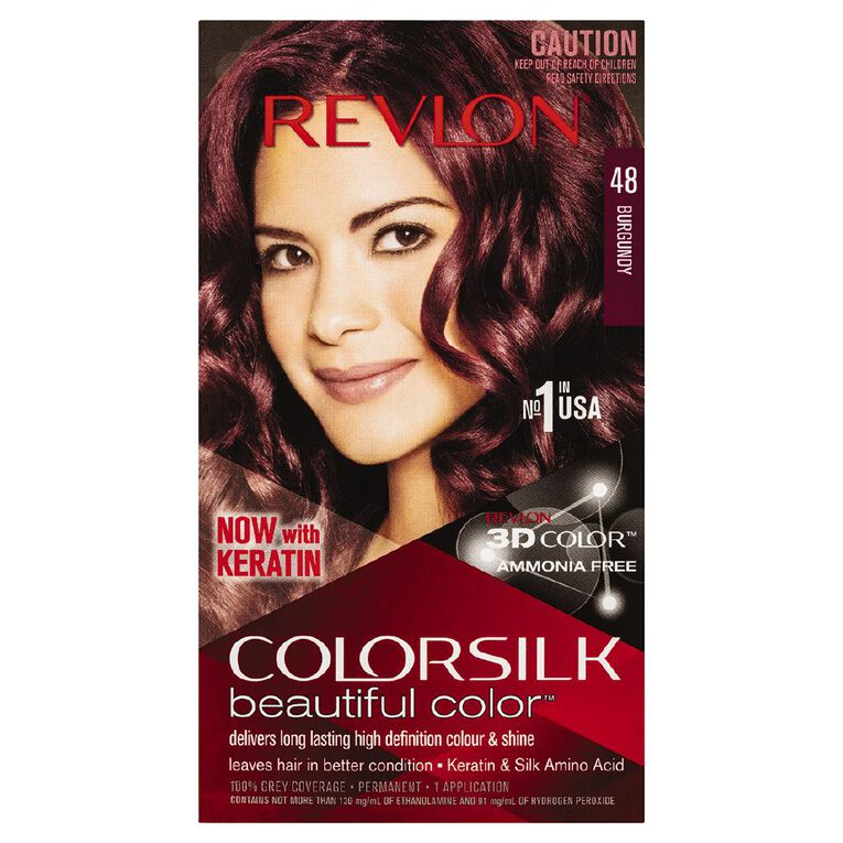 Revlon Colorsilk Burgundy 48, , hi-res
