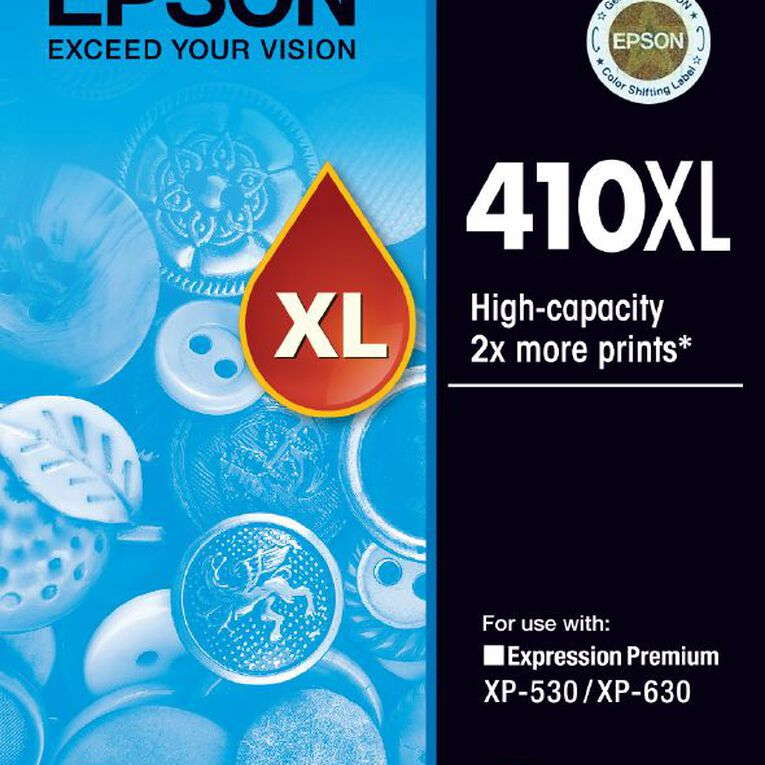 Epson Ink 410XL Cyan (650 Pages), , hi-res
