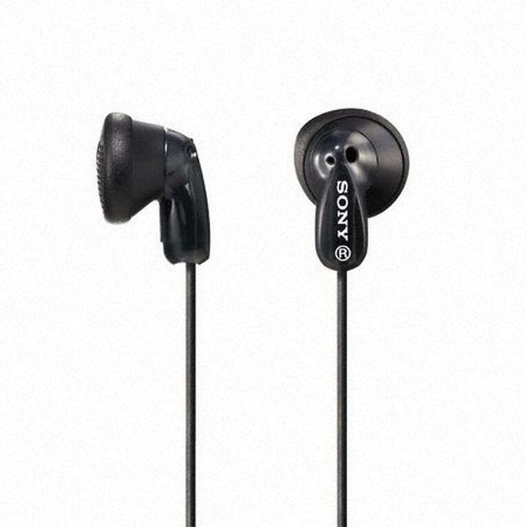 Sony In-Ear Earbud MDRE9LPB Black, , hi-res