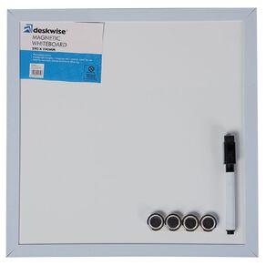Deskwise Magnetic Whiteboard  290mm x 290mm
