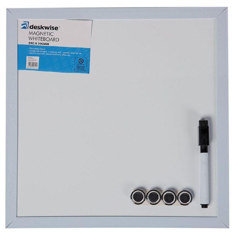 Deskwise Magnetic Whiteboard  290mm x 290mm, , hi-res