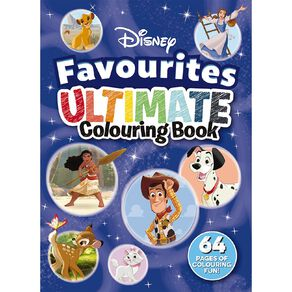 Disney Favourites Ultimate Colouring