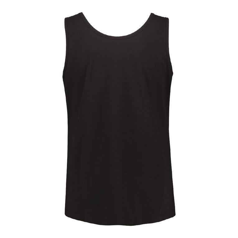 H&H Plus Women's Knit Tank, Black, hi-res