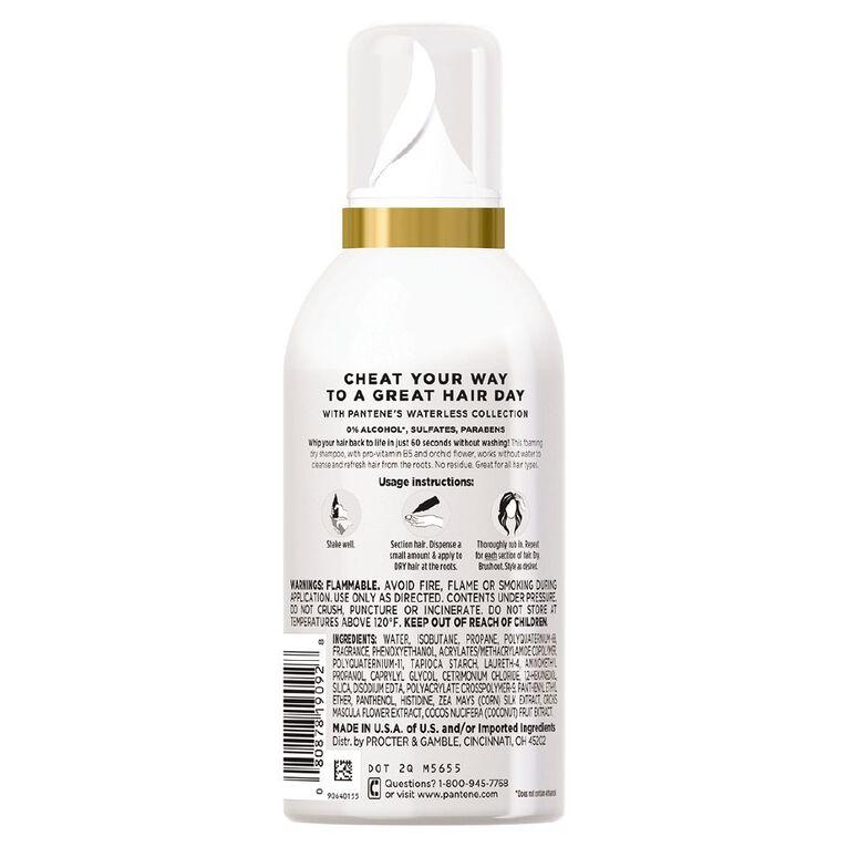 Pantene Dry Shampoo Foam 169ml, , hi-res