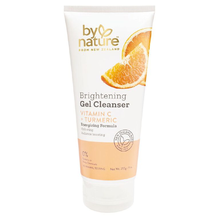 By Nature Brightening Gel Cleanser 255g, , hi-res