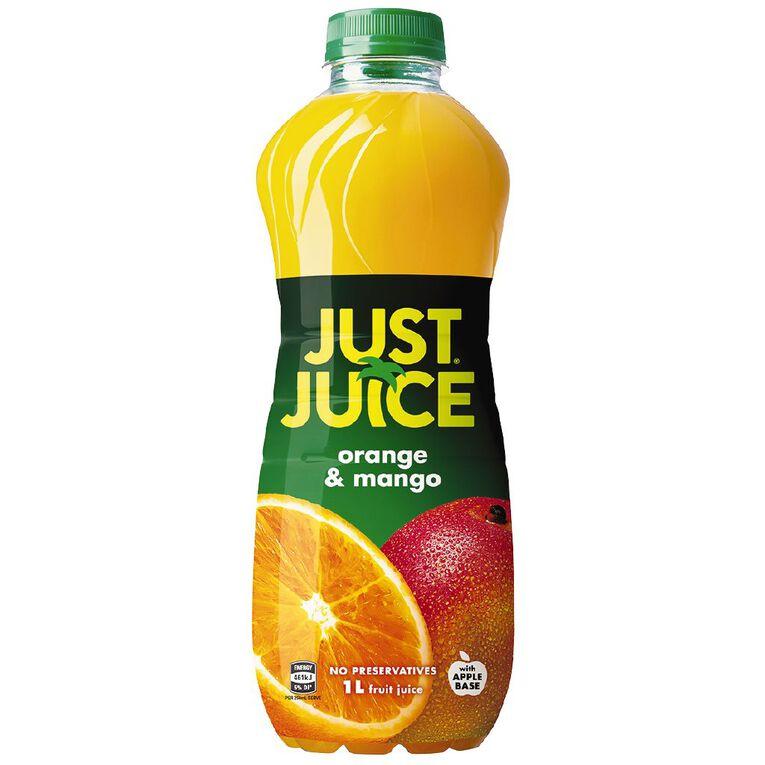 Just Juice Orange Mango 1L, , hi-res