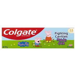 Colgate Peppa Pig Kids Mint Toothpaste 90g