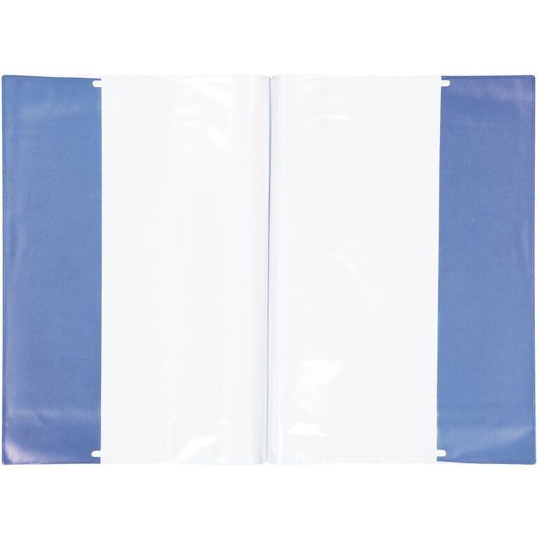 WS Book Sleeve A4 Little Blue 1 Pack, , hi-res