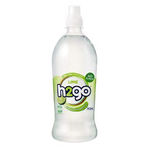 H2go Flavoured Water Lime 750ml