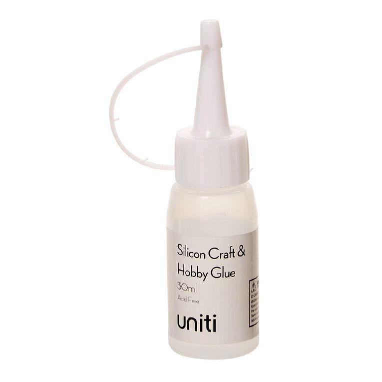Uniti Silicon Glue Clear 30ml, , hi-res