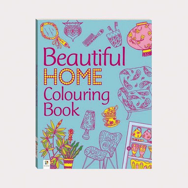 The Beautiful Home Colouring Book by Michael O'Mara, , hi-res