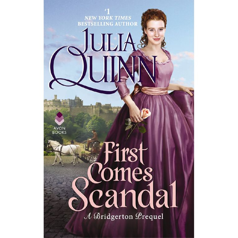 Rokesby #4 First Comes Scandal by Julia Quinn, , hi-res
