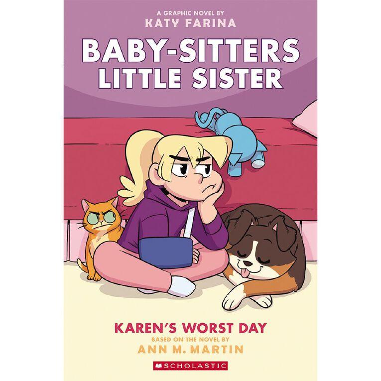Baby-Sitters Little Sister Graphix #3 Karen's Worst Day by Ann Martin, , hi-res