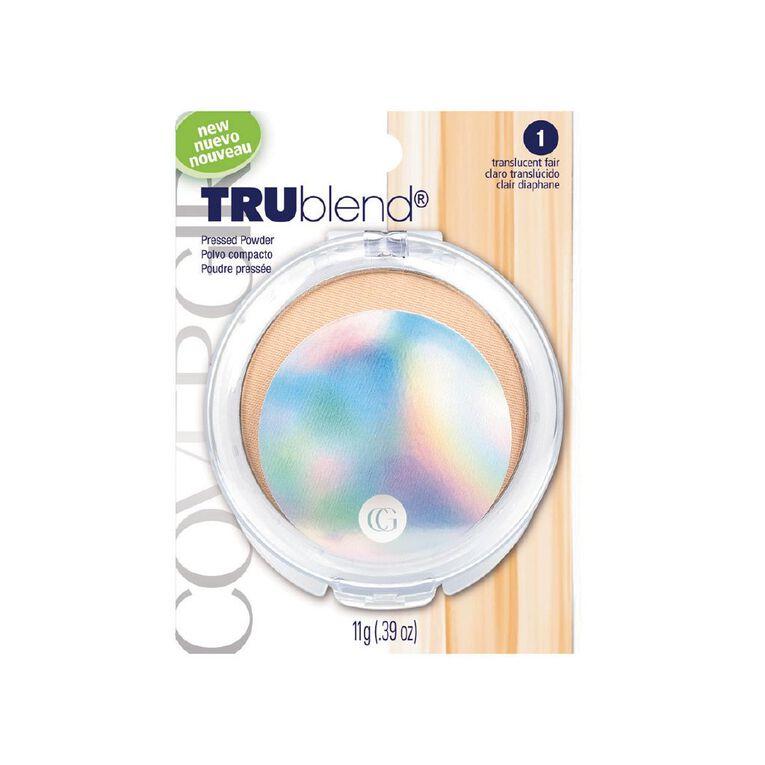 Covergirl Trublend Pressed Powder 1 (Fair) 11g, , hi-res
