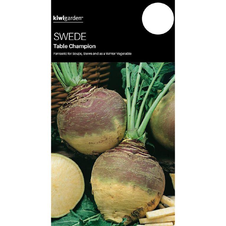 Kiwi Garden Swede Table Champion, , hi-res