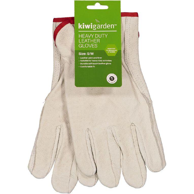 Kiwi Garden Heavy Duty Leather Gloves S-M, , hi-res