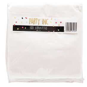 Party Inc Serviettes 100 Pack