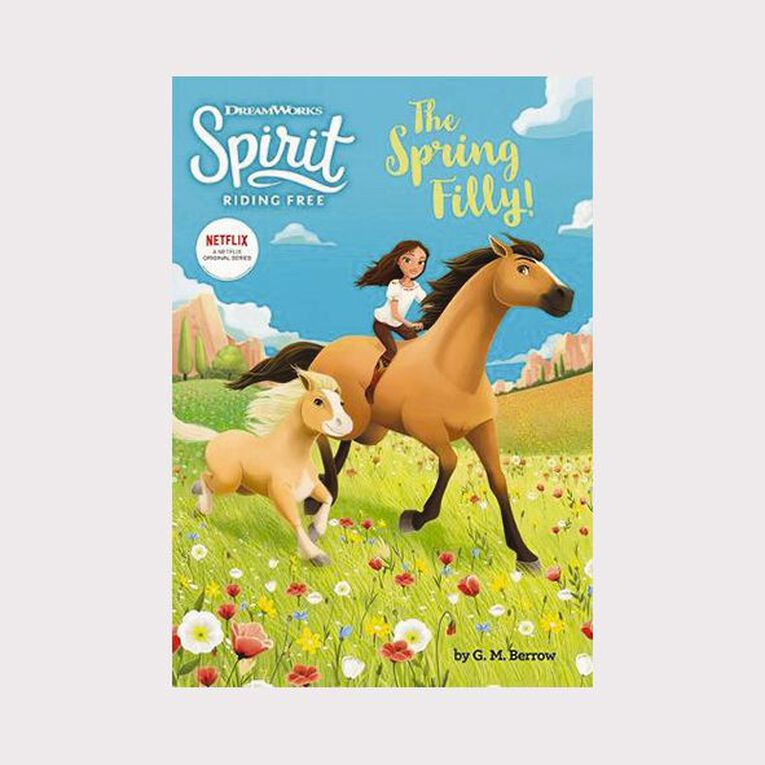 DreamWorks Spirit Riding Free: The Spring Filly by GM Berrow, , hi-res image number null