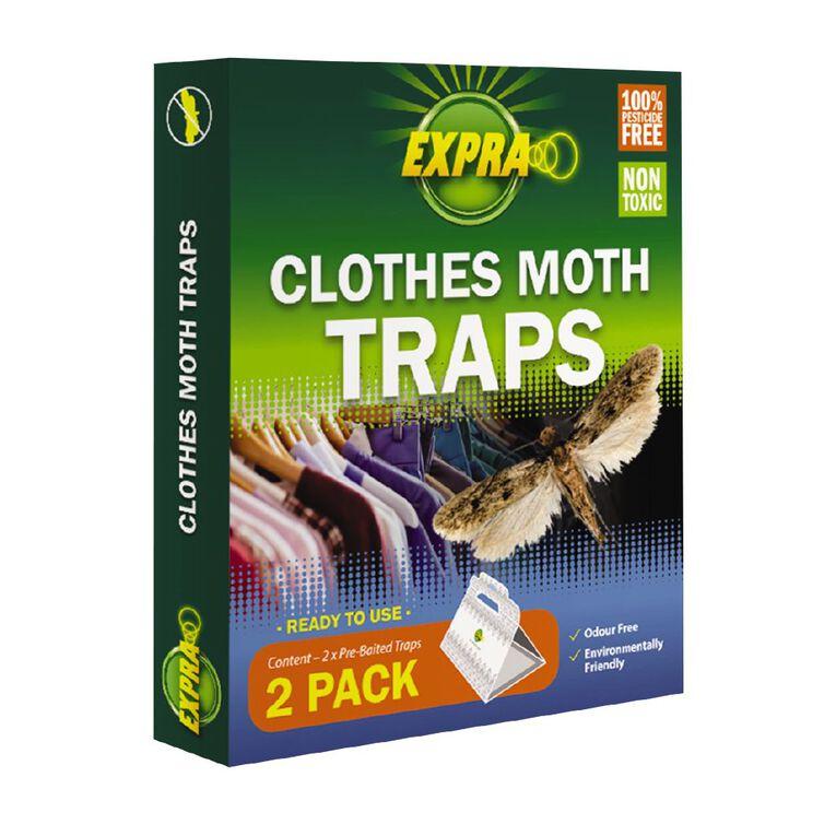 Expra Clothes Moth Traps 2 Pack, , hi-res