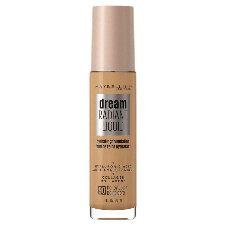 Maybelline Dream Radiant Liquid Foundation Honey Beige, , hi-res