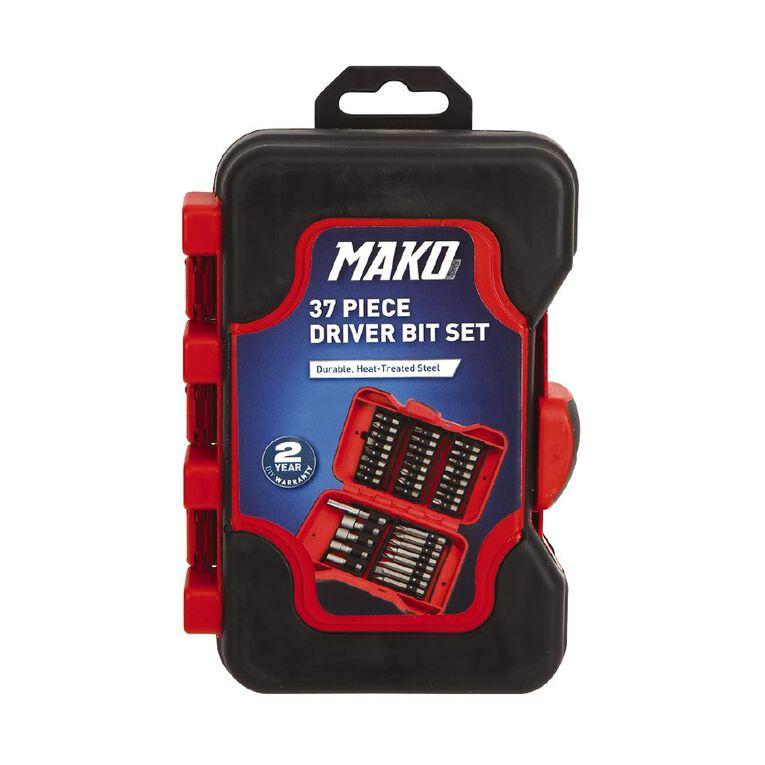 Mako 37 Piece Screwdriver Bit Set, , hi-res