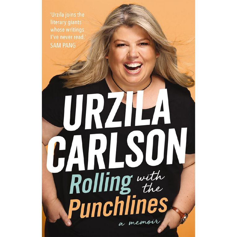 Rolling with the Punchlines by Urzila Carlson, , hi-res