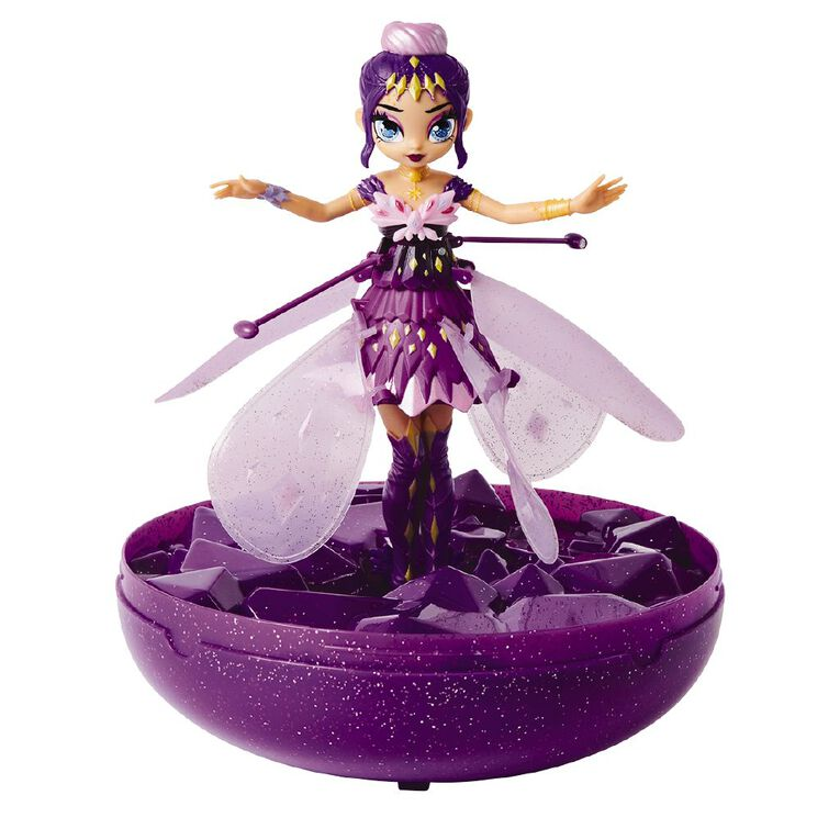 Hatchimals Crystal Flyer Purple, , hi-res