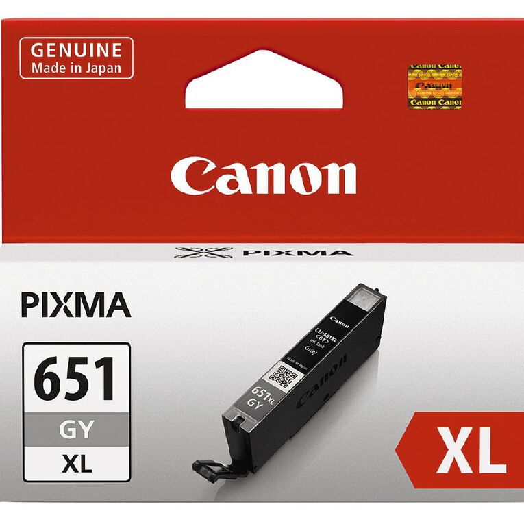 Canon Ink CLI651XL Grey (750 Pages), , hi-res