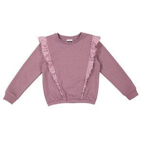 Young Original Print Frill Sweatshirt