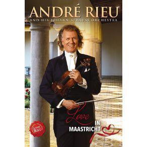 Love In Maastricht DVD by Andre Rieu & Johann S 1Disc