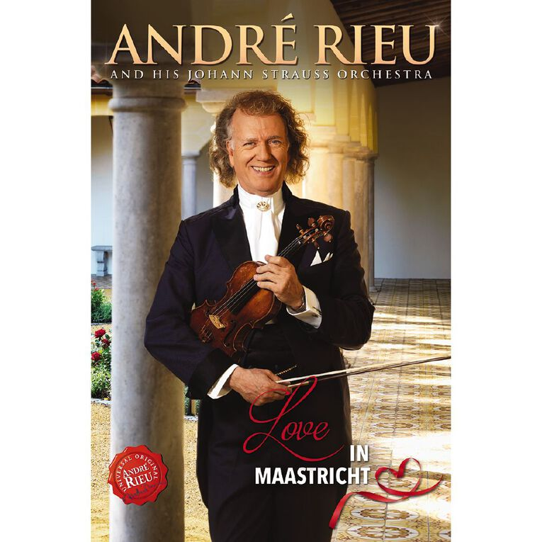 Love In Maastricht DVD by Andre Rieu & Johann S 1Disc, , hi-res