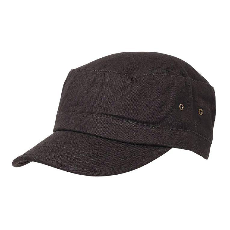 H&H Women's Army cap, Charcoal, hi-res
