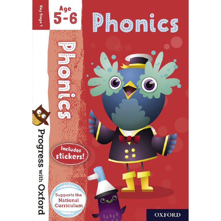 Phonics Age 5-6 by Oxford University Press, , hi-res