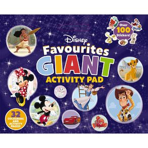 Disney Favourites Giant Activity Pad