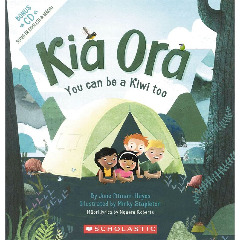 Kia Ora You Can be a Kiwi Too by June Pitman-Hayes, , hi-res