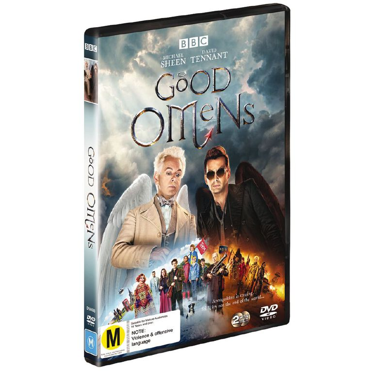 Good Omens DVD 2Disc, , hi-res