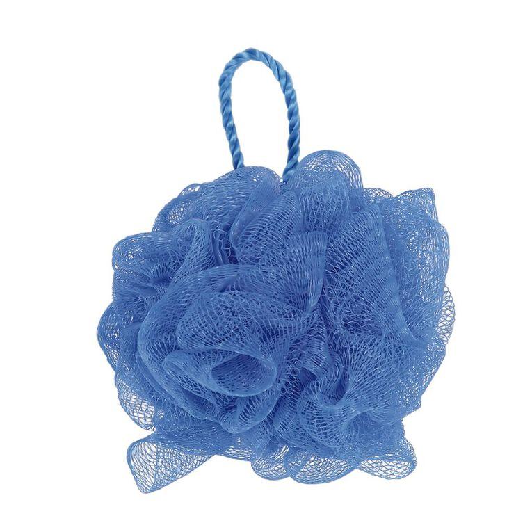 Colour Co. Bath Puff Blue, , hi-res
