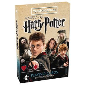 Harry Potter Playing Cards Game
