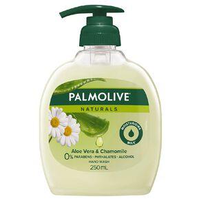 Palmolive Soft Wash Hand Wash Aloe Vera Pump 250ml