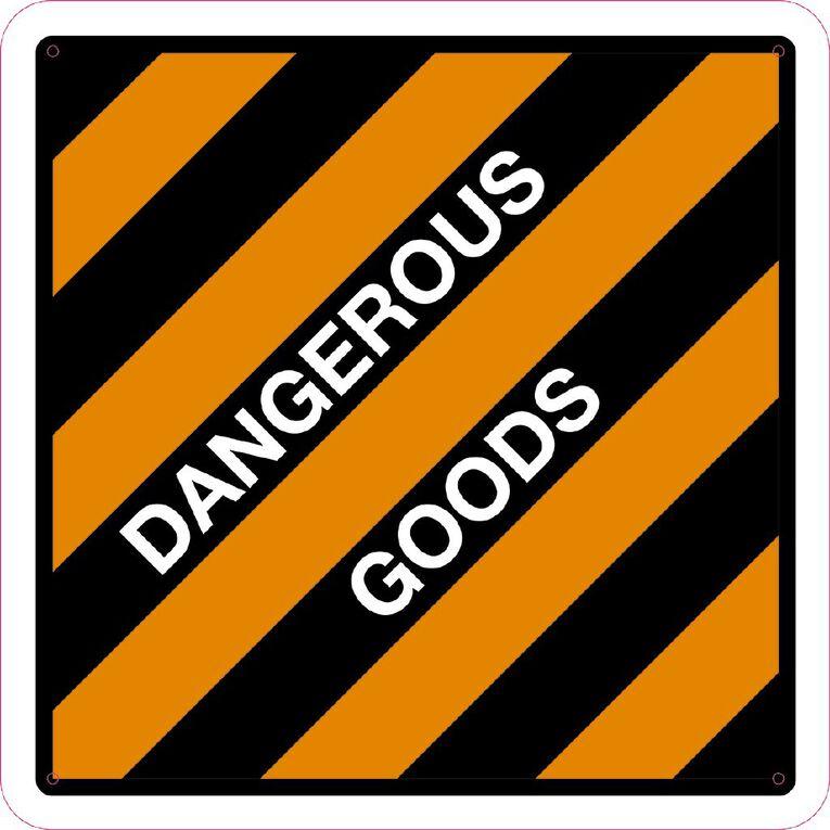 WS Dangerous Goods Sign Large 600mm x 600mm, , hi-res