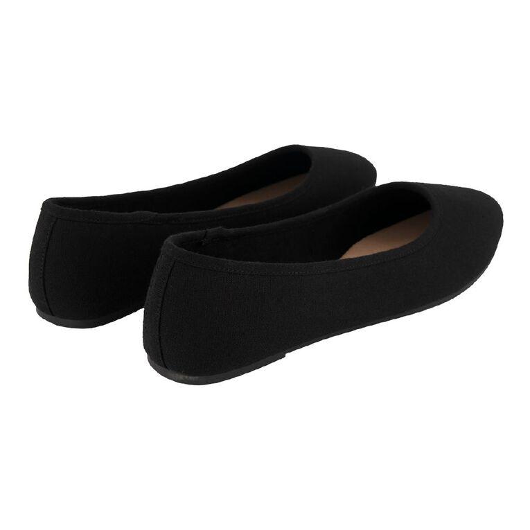 H&H Women's Dorsee Ballet Shoes, Black, hi-res